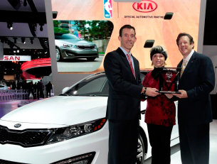 2013 International Car of the Year Goes to 2013 Kia Optima from Road & Travel Magazine