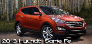 2013 Hyundai Sante Fe Crossover Vehicle -2013 CUV Buyer's Guide