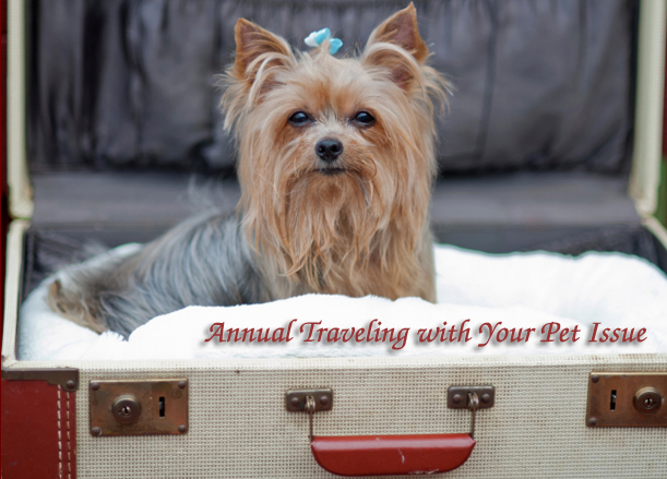 RTM's Annual Traveling with Your Pet Issue : How to Keep Your Furry Friends from Freaking Out on the Road