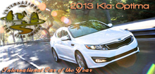 2013 Kia Optima Named 2013 International Car of the Year Award