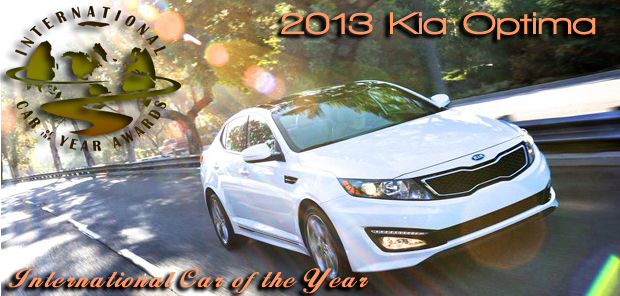 Kia Optima Named 2013 International Car of the Year by Road & Travel Magazine