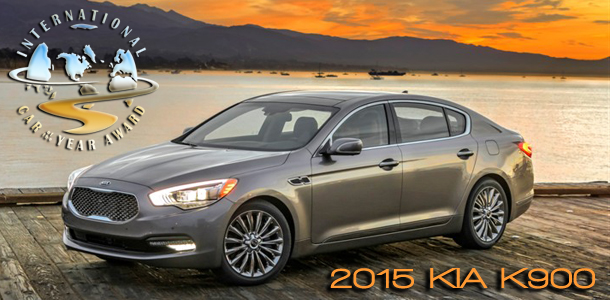 2015 Kia K900 Named 2015 International Car of the Year by Road & Travel Magazine