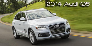 Earth, Wind & Power Names the 2014 Audi Q5 Most Earth Aware SUV of the Year for 2014