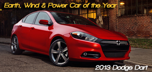 2013 Dodge Dart Named 5th Annual Earth, Wind & Power Car of the Year