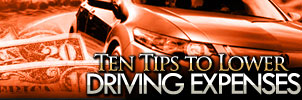 10 Tips to Lower Driving Expenses