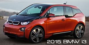 2015 BMW i3 honored in Top 5 Finalists of 19th Annual International Car of the Year Award