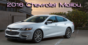 2016 Chevrolet Malibu - One of Top 5 Finalists in 2016 International Car of the Year - Celebrating ICOTY's 20th Annivesary, Winners to be revealed in November 2015. Stay Tuned