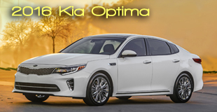 2016 Kia Optima - One of Top 5 Finalists for 2016 International Car of the Year - Winner to be announced November 2015.