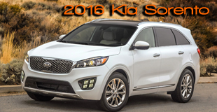 2016 Kia Sorento - One of Top 5 finalists in 20th International Truck/utility of the Year - Winner to be announced November 2016