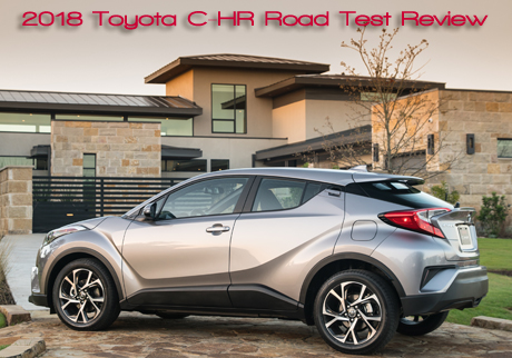 2018 toyota c hr road test review an eye popping design from toyota road travel magazine. Black Bedroom Furniture Sets. Home Design Ideas