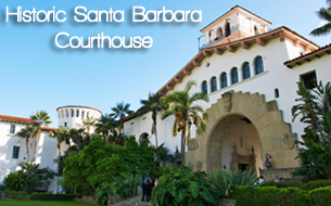 Historic Santa Barbara Courthouse - Photo by Jay Sinclair
