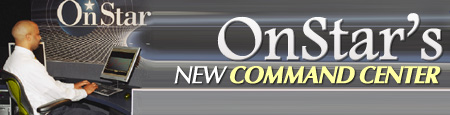 onstar launches new command center in gm world headquarters road travel magazine. Black Bedroom Furniture Sets. Home Design Ideas