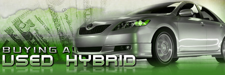 Buying a Used Hybrid