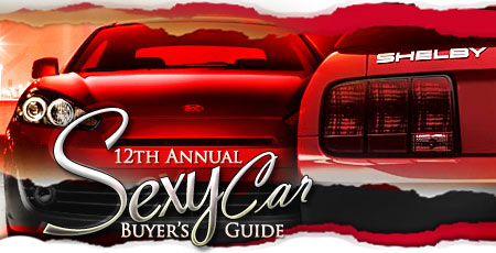 12th Annual Sexy Car Buyer's Guide