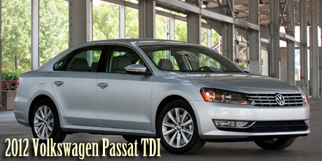 2012 Volkswagen Passat TDI - 2012 Earth, Wind & Power Car of the Year - Most Earth Friendly