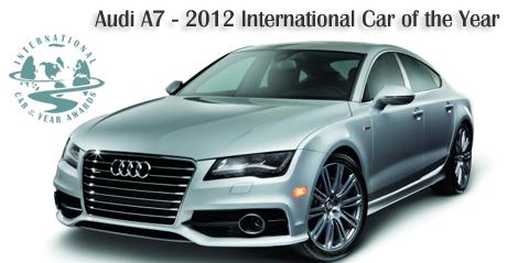 Audi A Named International Car Of The Year By Road - International car