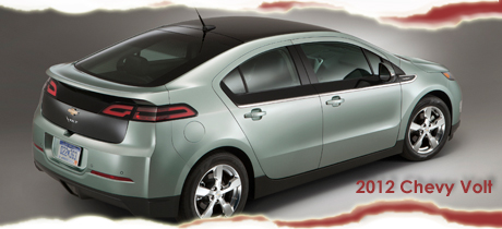 2012 Chevy Volt Electric Vehicle
