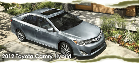 2012 Toyota Camry Hybrid Sedan Road Test Review - Road & Travel Magazine's 2012 Green Car Buyer's Guide