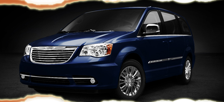 2012 Chrysler Town & Country Minivan Road Test Review by Martha Hindes