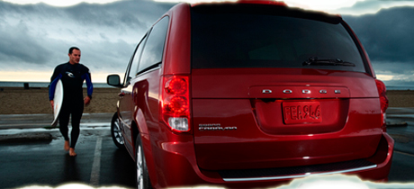 2012 Dodge Caravan Minivan Road Test Review by Martha Hindes