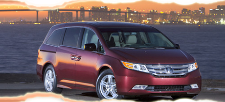 2012 Honda Odyssey Minivan Road Test Review by Martha Hindes