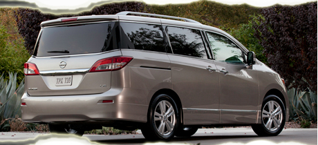 2012 Nissan Quest Minivan Road Test Review by Martha Hindes - 2012 Minivan Buyer's Guide