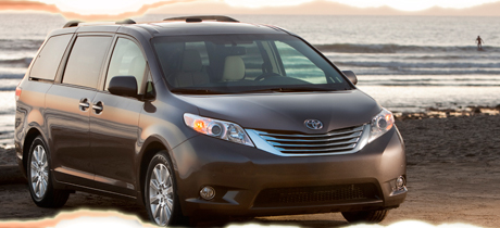 2012 Toyota Sienna Minivan Road Test Review by Martha Hindes