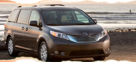 2012 Toyota Sienna Minivan Road Test Review by Martha Hindes