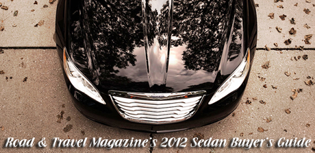 RTM's 2012 Sedan Buyer's Guide written by Martha Hindes