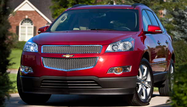 Road & Travel Magazine features its 2012 SUV Buyer's Guide - Shown 2012 Chevy Traverse SUV