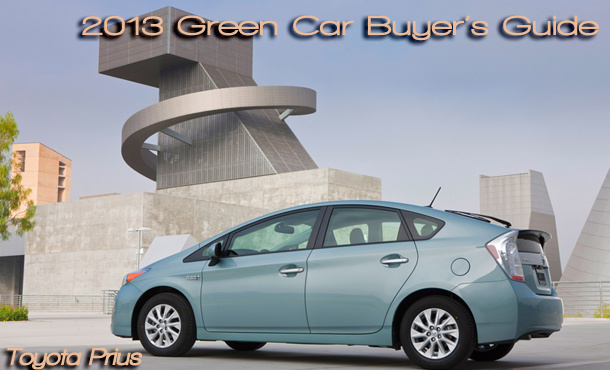 2013 Green Car Buyer's Guide by Martha Hindes