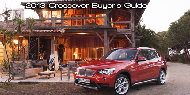 Road & Travel Magazine's 2013 CUV Buyer's Guide written by Martha Hindes with Contributions by Tim Healey and Bob Plunkett - Featured vehicle : 2013 BMW X1