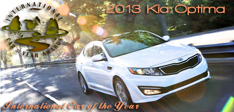 2013 Kia Optima Named 2013 International Car of the Year and 2013 Ford C-MAX Hybrid Wins 2013 International Truck of the Year