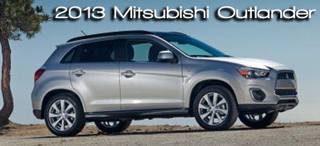 2013 Mitsubishi Outlander Road Test Review by Martha Hindes : RTM's 2013 CUV Buyer's Guide