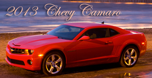 2013 Chevy Camaro SS Road Test by Martha Hindes - RTM's 17th Annual Sexy Car Buyer's Guide