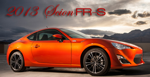 2013 Scion FR-S Road Test by Martha Hindes - RTM's 17th Annual Sexy Car Buyer's Guide Top 10 Picks