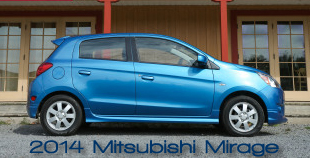 2014 Mitsubishi Mirage Road Test Review by Martha Hindes