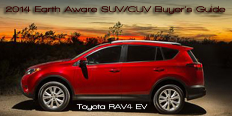 2014-13 Earth Aware CUV/SUV Buyer's Guide written by Martha Hindes