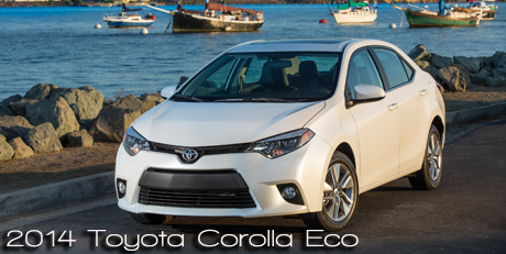 2014 Toyota Corolla Eco Wins 2014 Earth, Wind & Power Car of the Year - Most Earth Aware