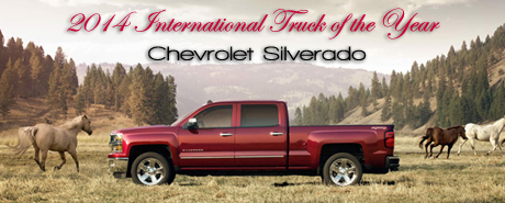 RTM Names Chevrolet Silverado 2014 International Truck of the Year