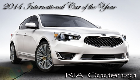 2014 Kia Cadenza Wins International Car of the Year - Making a strong emotional connection with car and consumer