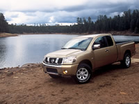 Nissan Frontier Bed Size >> 2003 Nissan Titan Road Test Review by Steve Siler : ROAD ...