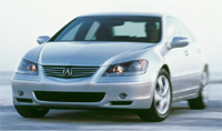 2005 acura rl road test review by ann job road travel magazine