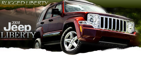2008 jeep liberty new car review by jessica howell road. Black Bedroom Furniture Sets. Home Design Ideas