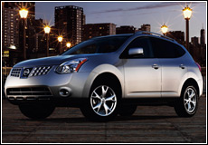 2008 Nissan Rogue  1/4 View