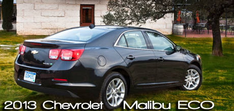 2013 Chevrolet Malibu Eco Road Test Review by Tim Healy
