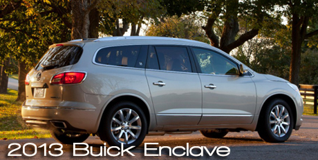 2013 Buick Enclave Road Test Review by Bob Plunkett