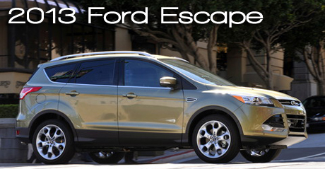 2013 Ford Escape Road Test Review : Road & Travel Magazine