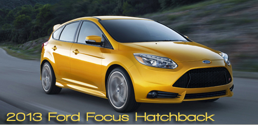 2013 Ford Focus ST Hatchback Review by Bob Plunkett