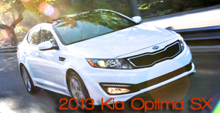 2013 Kia Optima SX Sedan Road Test Review by Courtney Caldwell